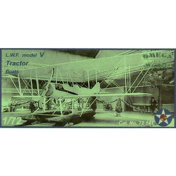 LFW Traktor-Bootflugzeug des Modells V mit Abziehbildern von US.