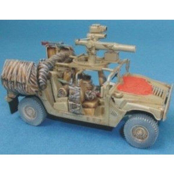 Hummer Israeli Defence Force/IDF (für Revell-Modelle)