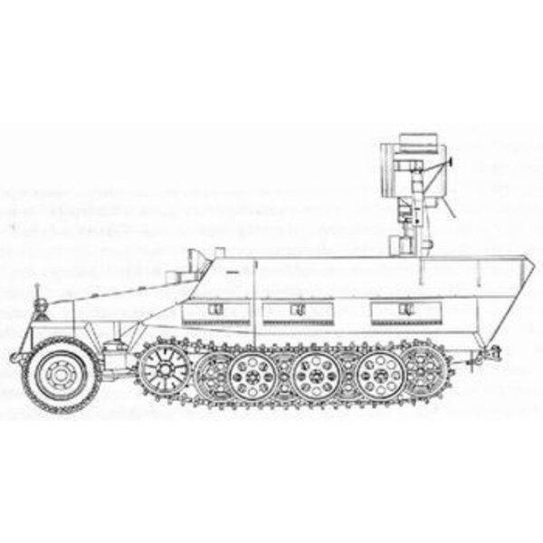 Sd.Kfz.251:20 Ausf. D UHU (für Bausätze von Hasegawa)