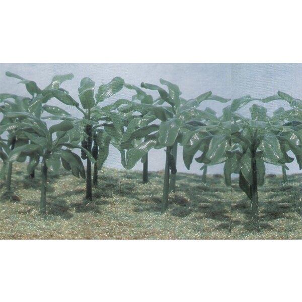 Bananenbäume. 15 Bäume in 90 Teilen, die für den Krieg gut sind, der Zuglay-Out-Schattenprojektschulprojektdioramen ans Architek