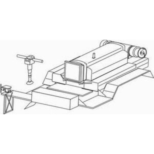 GMC 353 Kompresor Le Roi ñ Umwandlungssatz enthält Umwandlungsteile für GMS truck, um Kompressor-Oberbau von Le Roi (für Bausätz