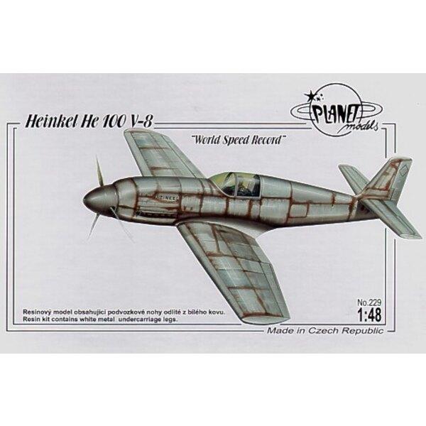 Heinkel He 100V-8 Weltgeschwindigkeitrekord