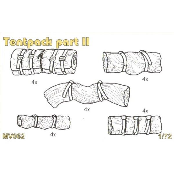 Tentpack zweiter Teil enthält detaillierten Tentpack 19 pcs.