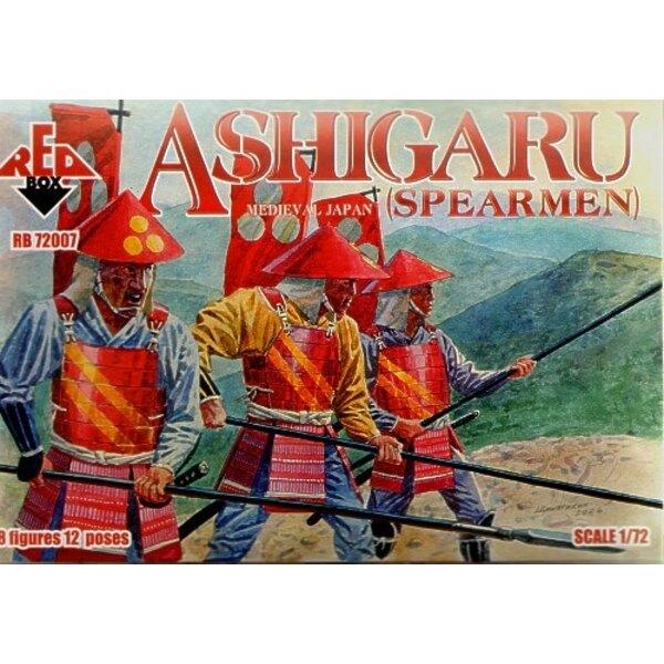 Japanischer Ashigaru (Mittelalterisches Spearmen)