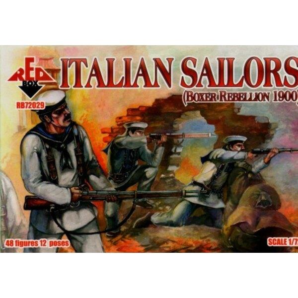 Italienische Matrosen. Boxer-Aufstand