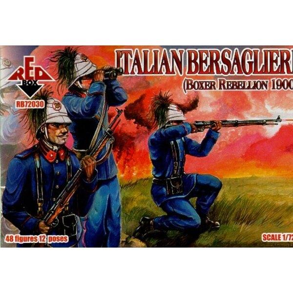 Italienischer Bersaglieri Boxer-Aufstand