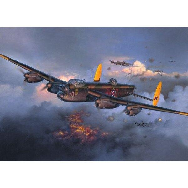 Avro Lancaster Mk.I/ III (neue Bearbeitung. Nicht Hasegawa). (Das 4. Bild zeigt dem Revell Avro Lancaster mit Abziehbildern verf