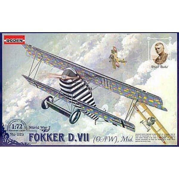 Frühe Fokker D.VII
