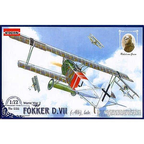 Fokker D.VII (Albe) Spät