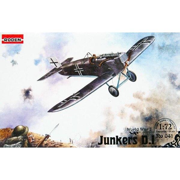 Junkers D.I lange Rumpf-Version