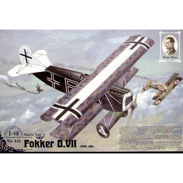 Fokker D.VII OAW (Mitte)