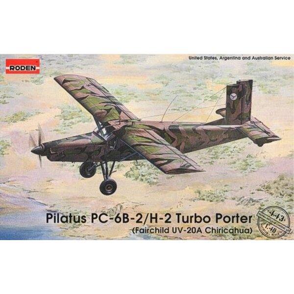 Pilatus PC-6B-2/H-2 Turbogepäckträger