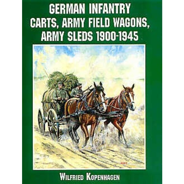 German Infantry carts army field wagons and sleds 1900-1945