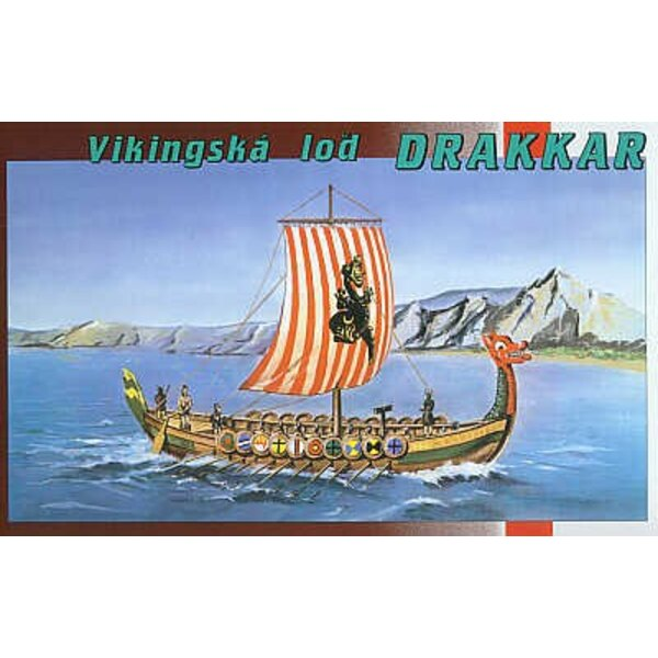 Drakkar Schiff von Viking