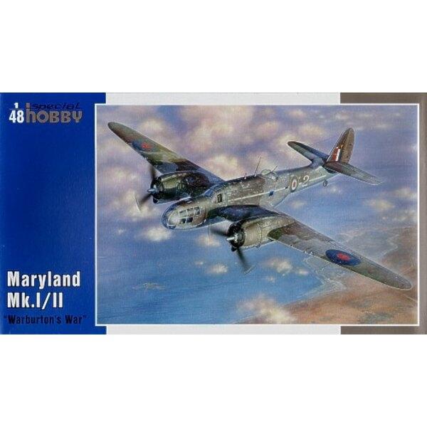 Martin Mk.I/ II Maryland Warburtons Krieg