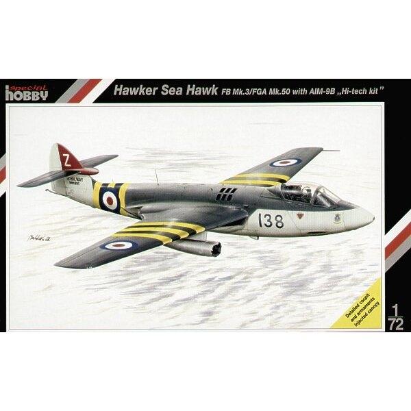 Hawker Sea Hawk Mk.3/ FGA.50 mit AIM 9