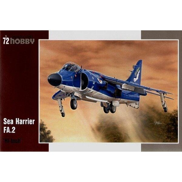 BAe Sea Harrier FRS.Mk.2 Hi Technologie. FA.2 von Sea Harrier ist die letzte Version des britischen Harrier, der der aktiven Auf