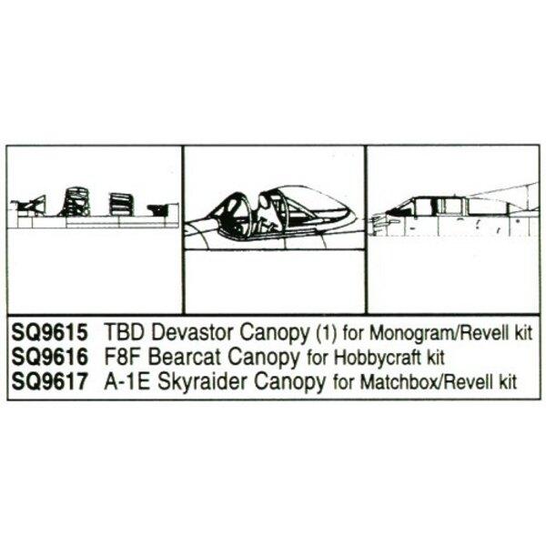Douglas TBD Devastator (designed to be used with Monogram and Revell kits)