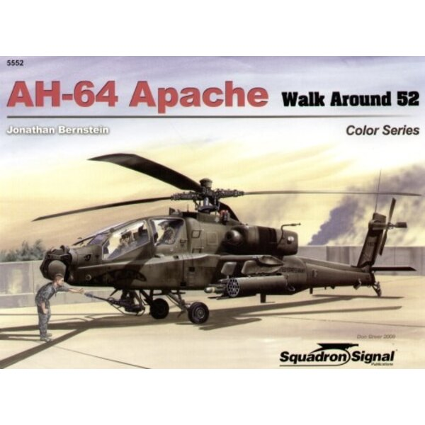 Boeing AH-64 Apache COLOUR (Walk Around Series)
