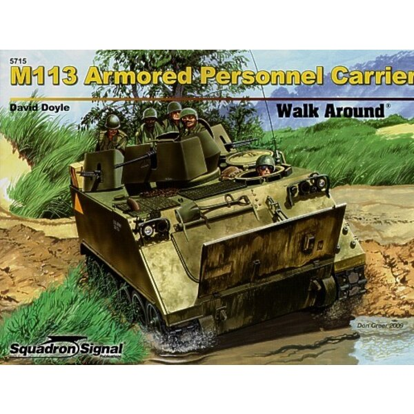 M113 Armored Personnel Carrier (Walk Around Series)