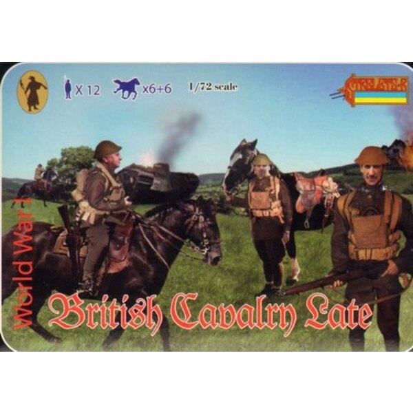 Spät WWI Briten-Kavallerie WWI