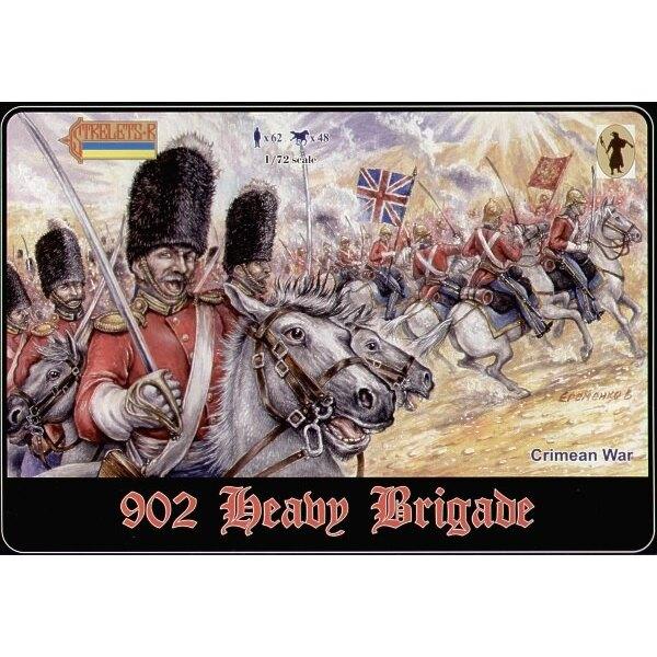 Schwere Brigade. Krimkrieg. Im Satz 023 und 030 plus 2 neue Sätze. 1 zu Pferde. 1 zu Pferde/abgestiegen