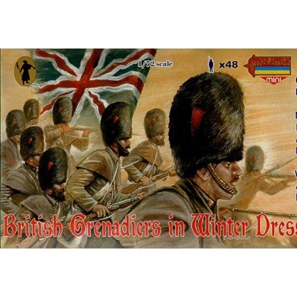 Britische Grenadiere im Winterkleid