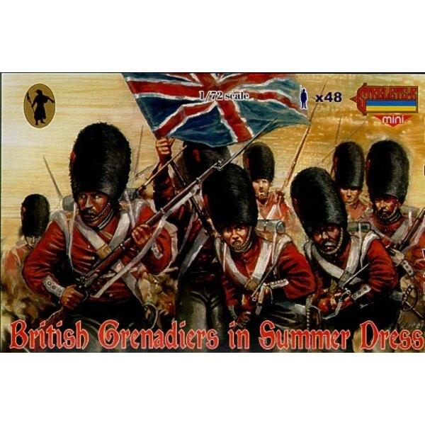 Britische Grenadiere im Sommerkleid
