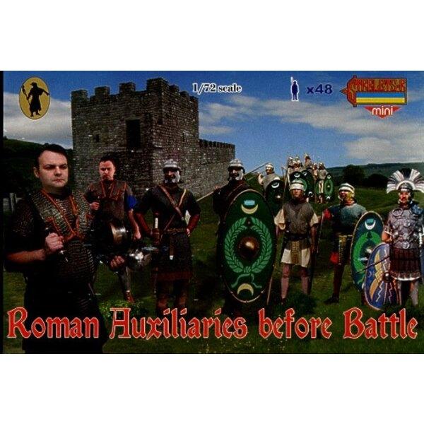 Römische Hilfstruppen Vor dem Kampf