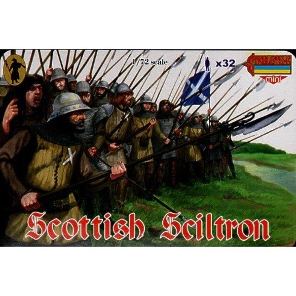 Schottischer Schiltron. Schottische Grenzkriege