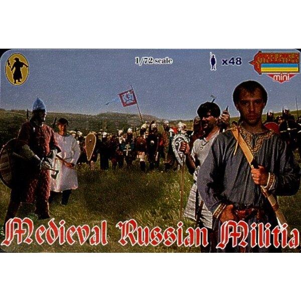 Mittelalterisches russischer Militia