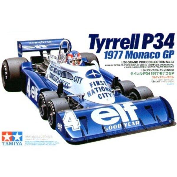 Tyrell P34 1977 Monaco GP