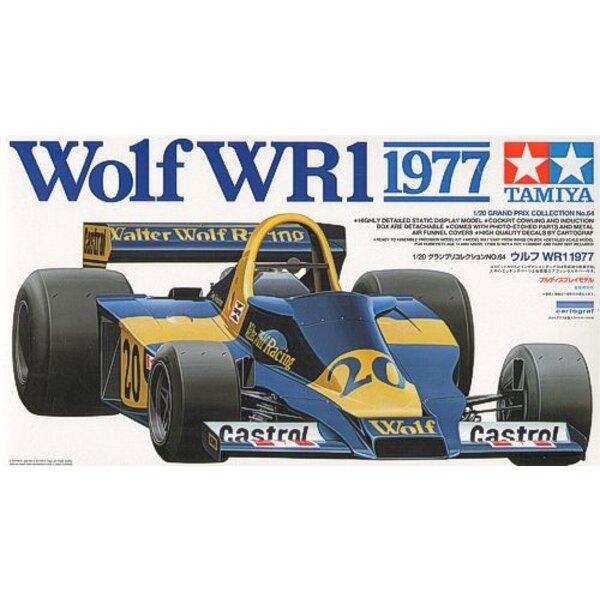 Wolf WR1 1977 damit ätzt Teile