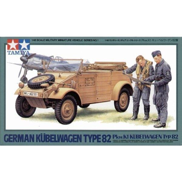 Kubelwagen Typ 82 und Figuren