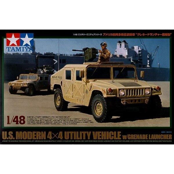 Hummer US Modern 4x4 mit Handgranate-Abschussvorrichtung