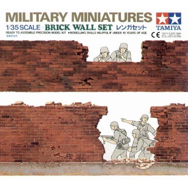 Backsteinmauer-Set