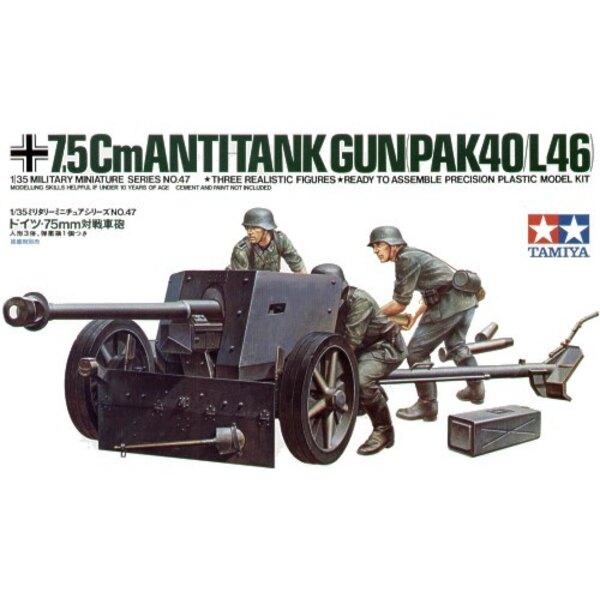 75-Mm-Panzerabwehrkanone