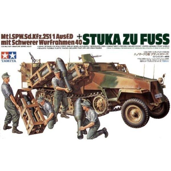Sd.Kfz.251:1 Ausf. D Mit Seitenraketenwerfern