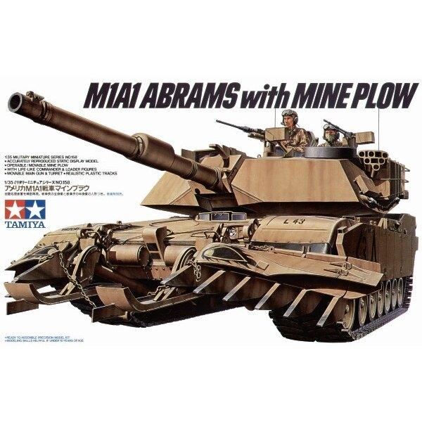 M1A1 Abrams mit Pflug von Mine
