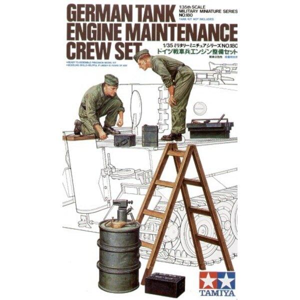 Deutscher Panzer-Motor Maintenance Besatzung-Set