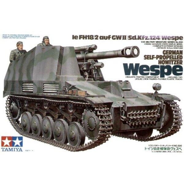Sd.Kfz.124 SP Haubitze Wespe