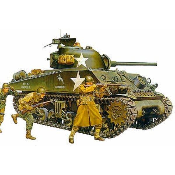 M4A3 Sherman später Produktionstyp mit 75-Mm-Kanone