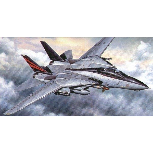 Grumman F-14A Tomcat Schwarze Ritter. Aktualisierter Bausatz einschließlich der neuen Bewaffnung.
