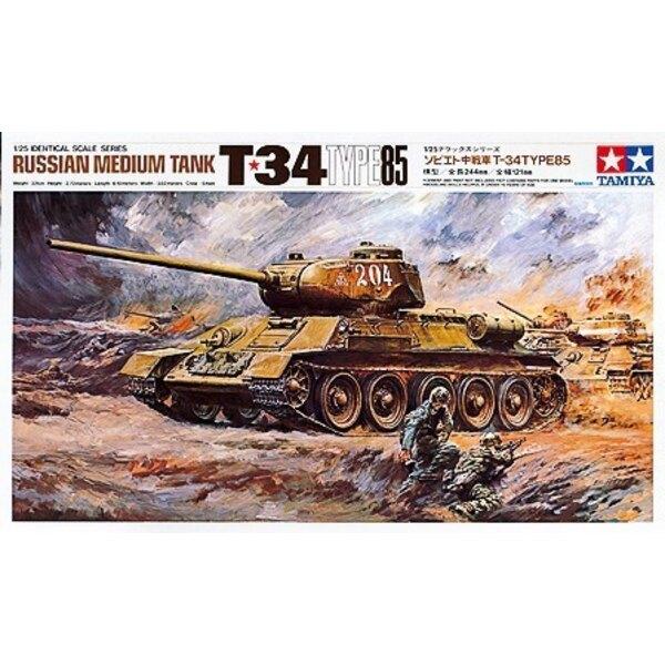Typ 85 von T-34. Während des 2WKes war der T34 als Russlands Meisterwerk-Medium-Panzer bekannt. Eine Schwankung des T34 kam bewa