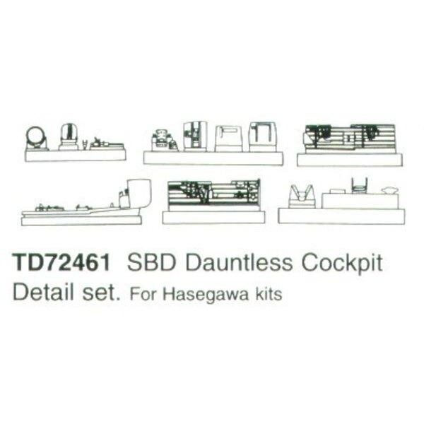 Douglas SBD Dauntless (für Bausätze von Hasegawa)
