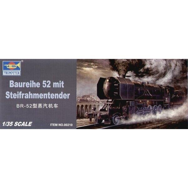BR 52 Kriegslocomotive Gepanzerte Dampflok mit Steifrahmentender (sieh CMF35066 CMF35067 und CMF35068 für nützliche Figuren, um