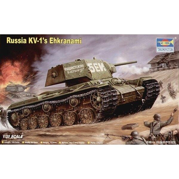Ehkranami von KV-1 von Russland