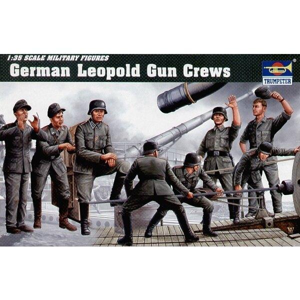 Deutsche Leopold Kanone-Besatzung