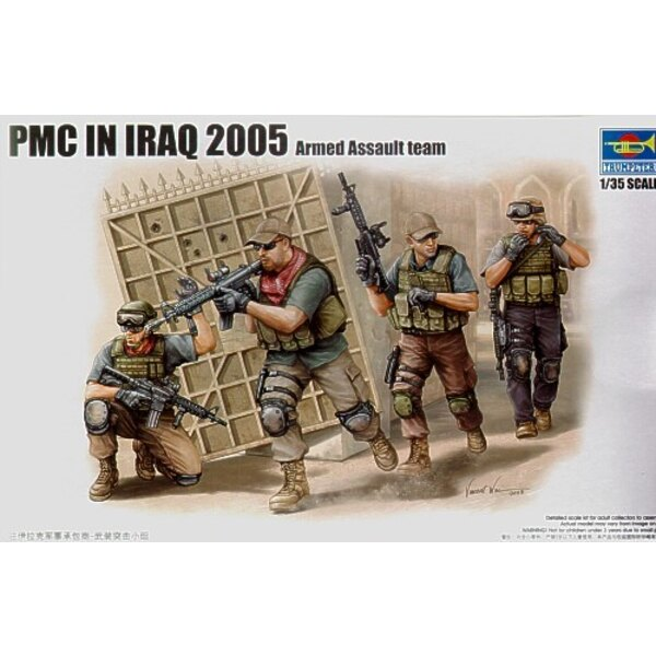 PMC in Irak - Zünden Move ment Team An