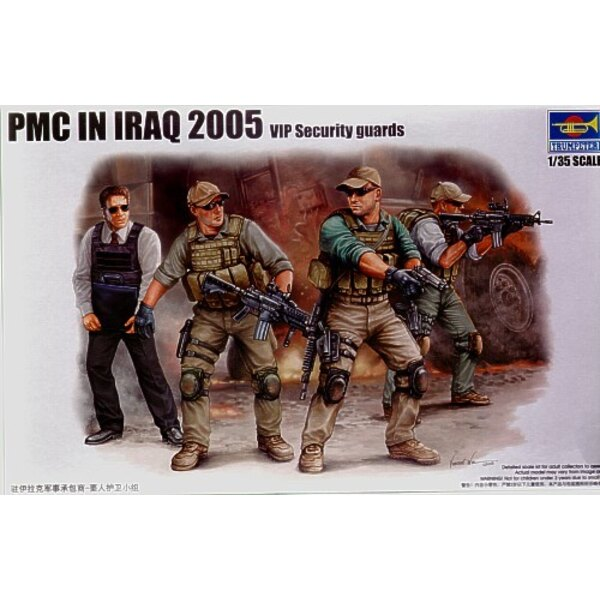 PMC in Irak - Schutz der wichtigen Persönlichkeit